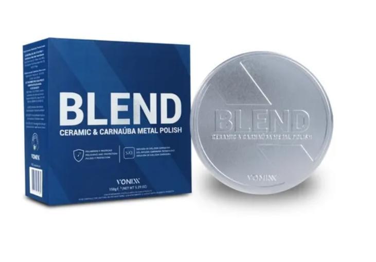 Vonixx Blend Metal Polish Polidor de Metais e Cromados Com Carnaúba e SiO2 150G