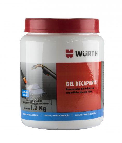 Wurth Gel Decapante Limpador De Óxidos Em Aço Inox 1,2Kg