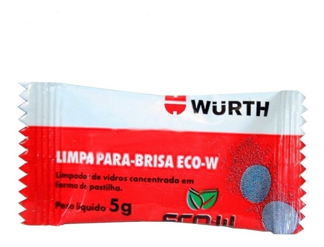 Wurth Limpador de Para brisa Pastilha Eco W Efervescente  5gr (Un)