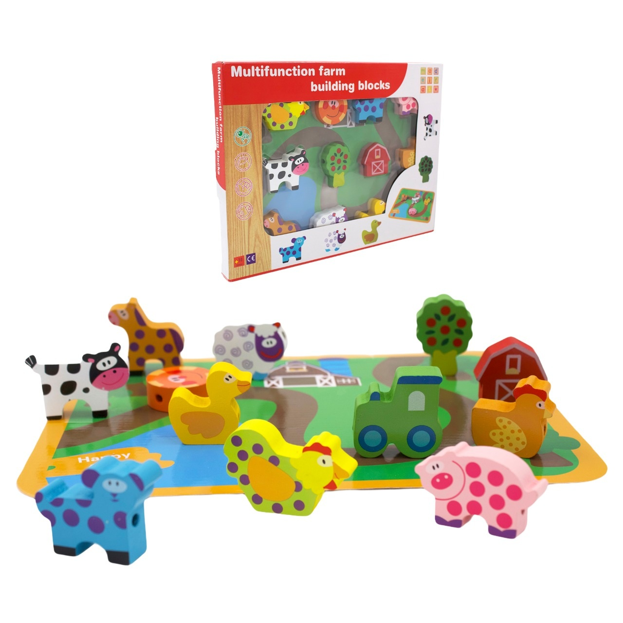 Animais da Fazenda Fashion Toys