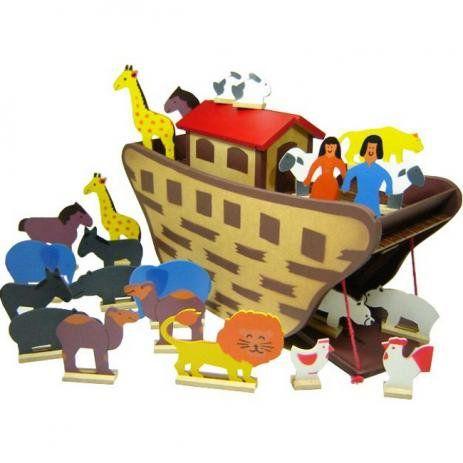 Arca de Noé de madeira