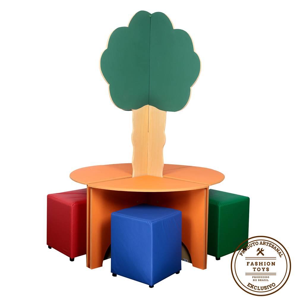 Árvore Infantil com Mesa de Madeira Fashion Toys