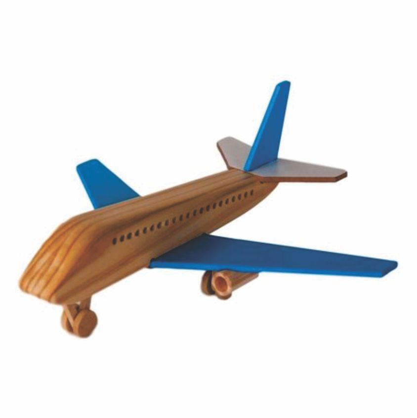 Avião Boing de Madeira