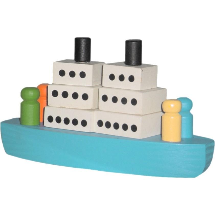 Barco de Montar de Madeira