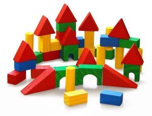 Blocos de Construção 40 pçs