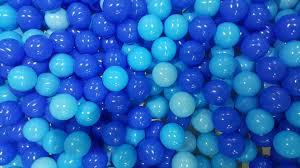 Bolinhas para Piscina 500 unidades Azul