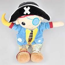 Boneco Pirata de Pelúcia