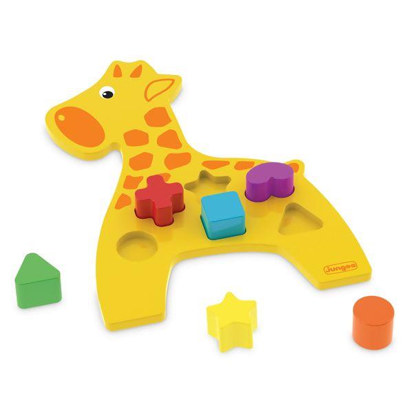 Brinquedo de Encaixe Girafa