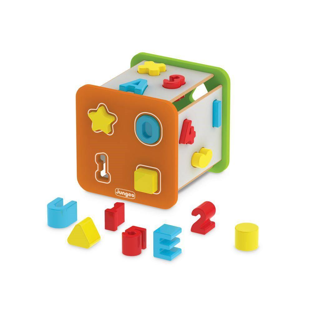 Brinquedo de Encaixe Super Cubo Didático