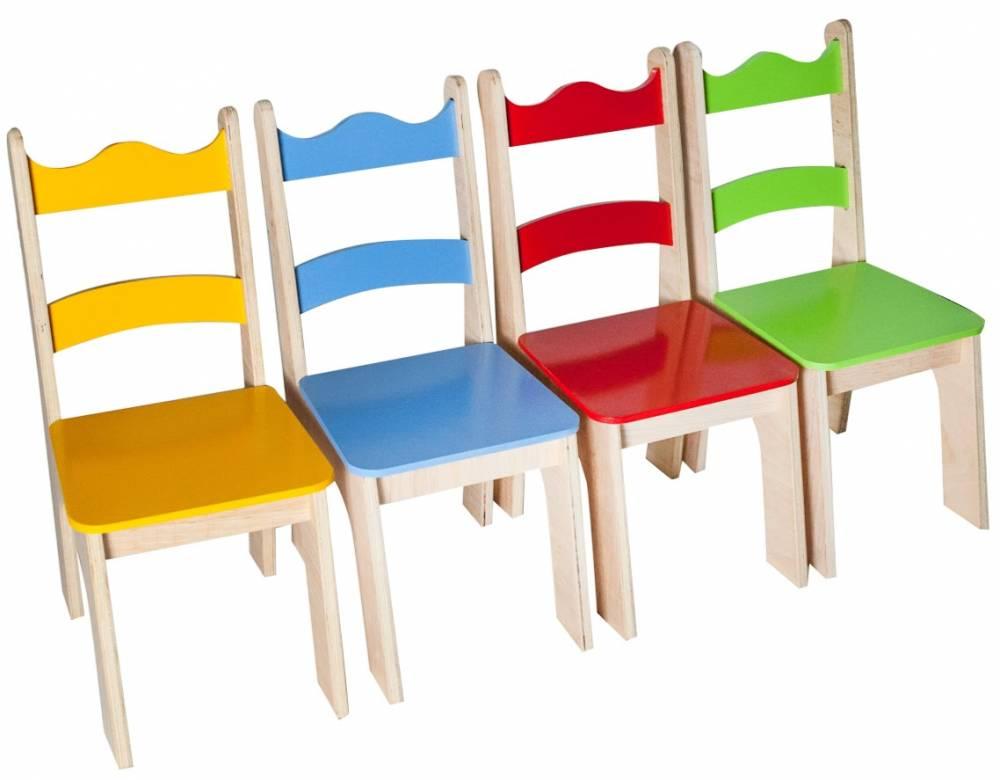 Cadeira Infantil de Madeira Tropical