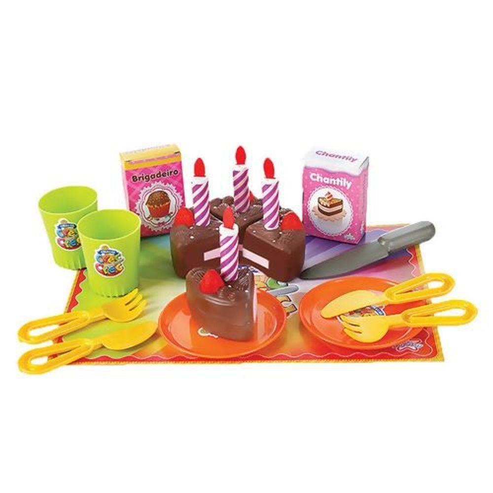Comidinha de Brinquedo Crec Crec Festa de Aniversário
