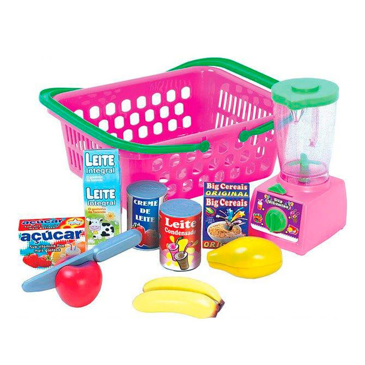 Comidinha de Brinquedo Crec Crec Vitamina