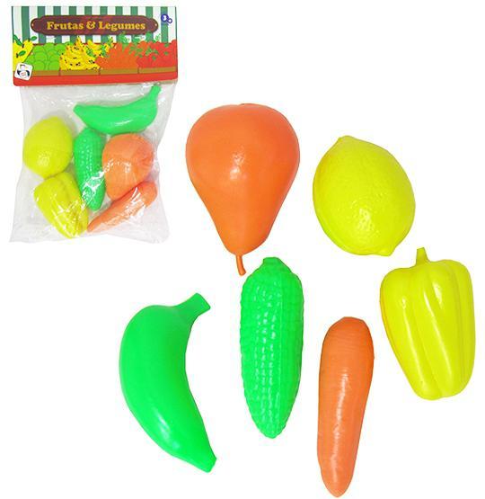 Comidinha de Brinquedo - Kit Frutas e Legumes