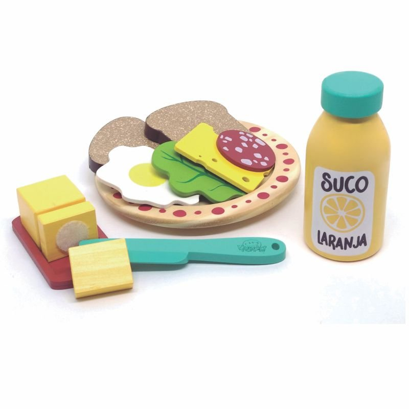 Comidinha de Brinquedo - Kit Lanche