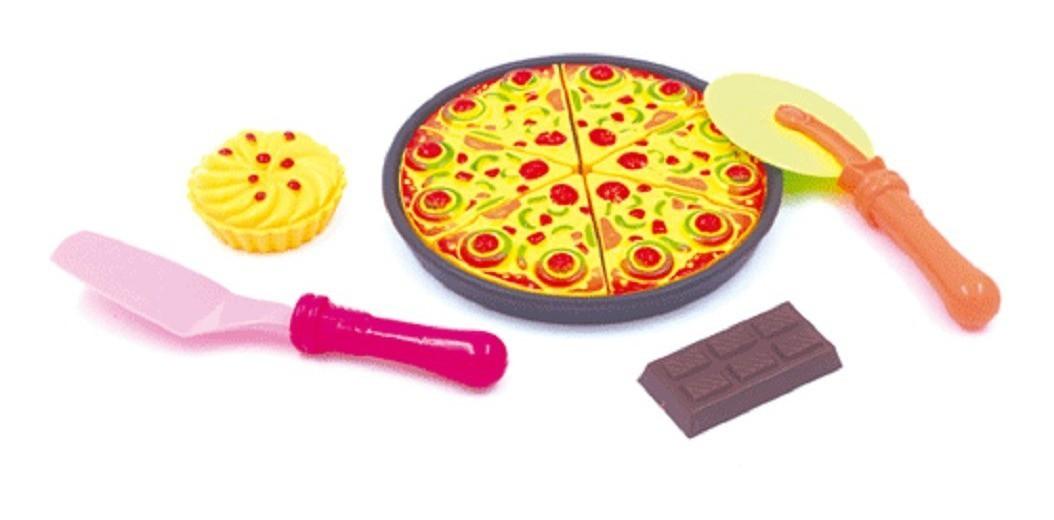 Comidinha de Brinquedo - Kit Pizza