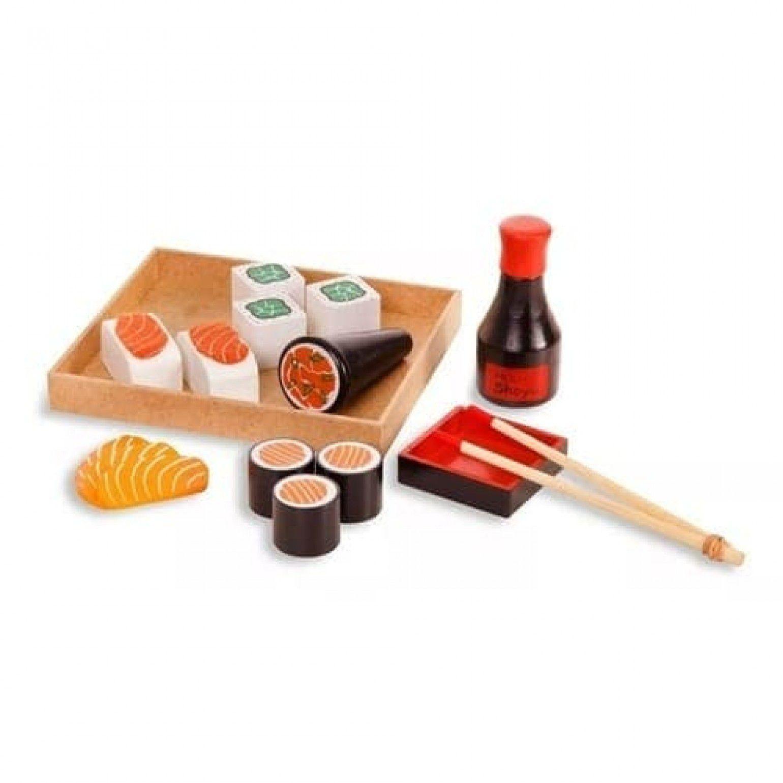 Comidinha de Brinquedo - Kit Sushi