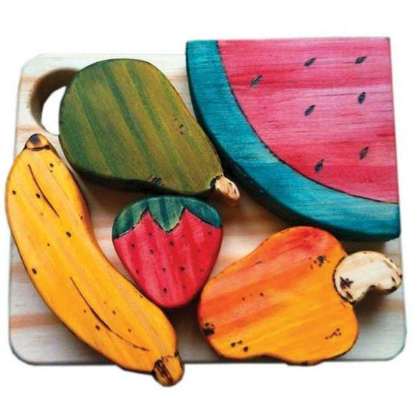 Comidinha de Brinquedo Tábua de Frutas