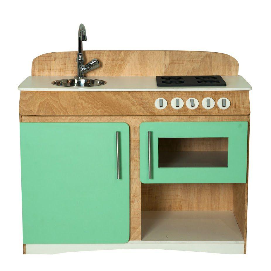 Cozinha Infantil Flórida Verde Água Fashion Toys