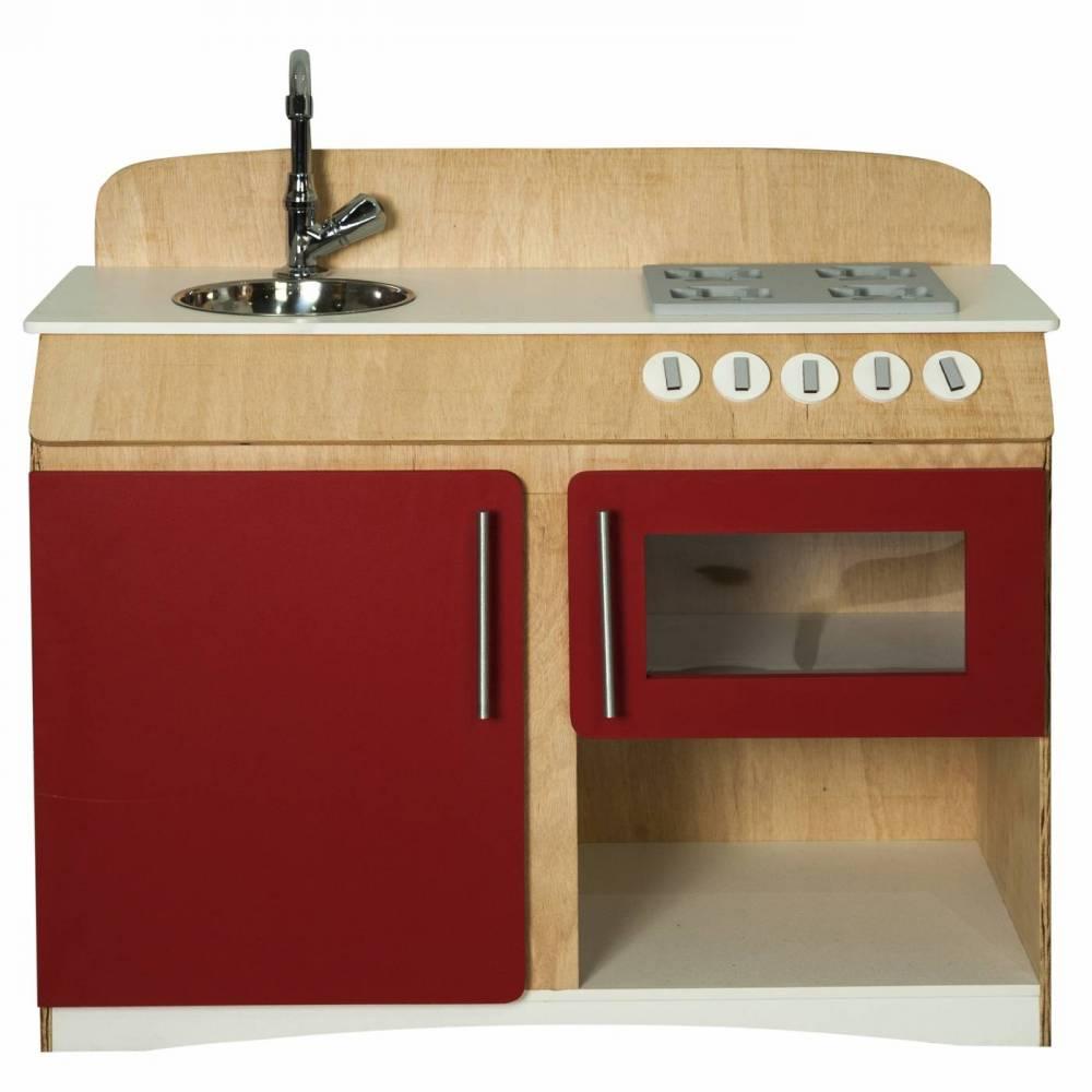 Cozinha Infantil Flórida Vermelha Fashion Toys