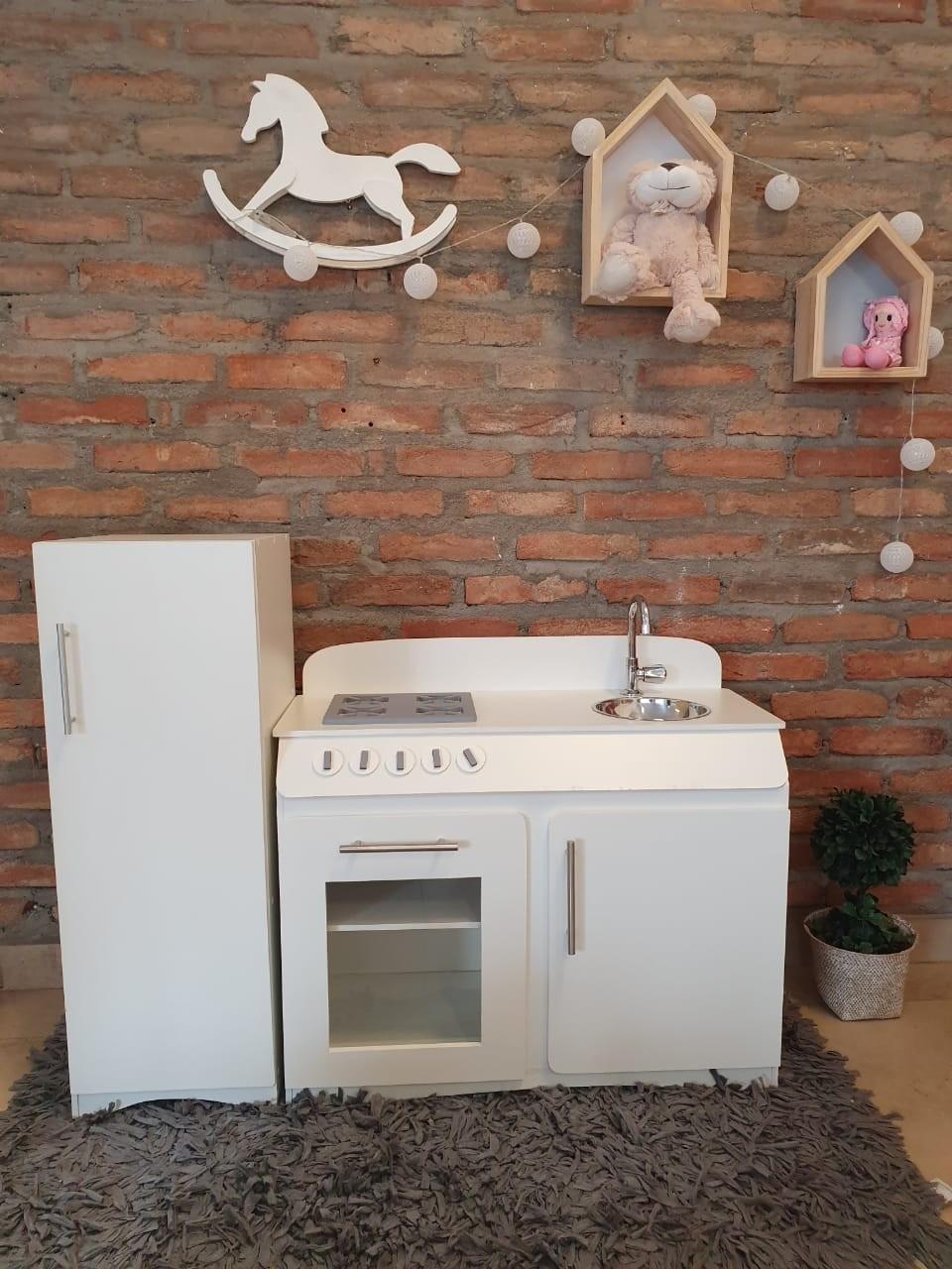 Cozinha Infantil Party com Refrigerador Fashion Toys
