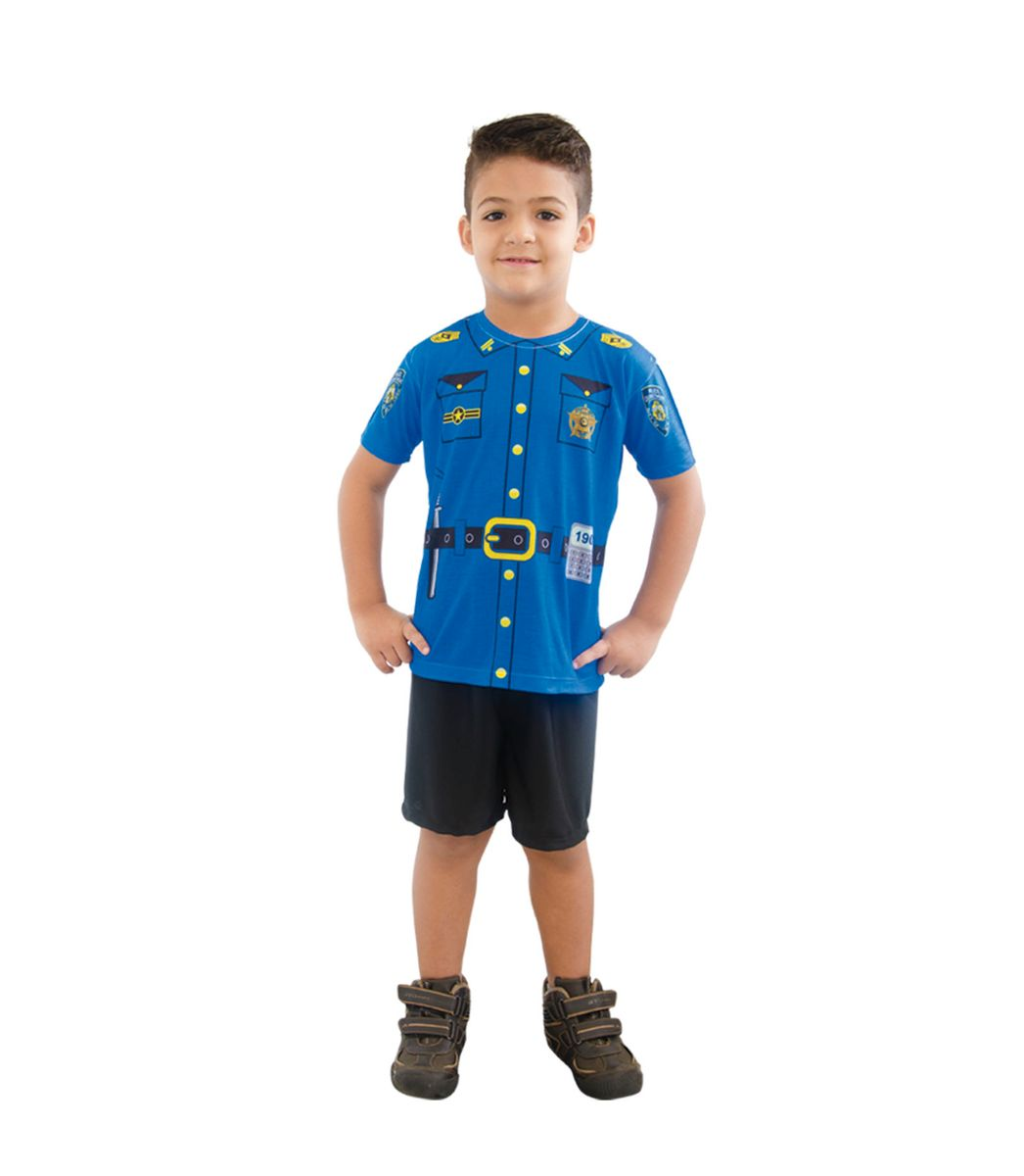 Fantasia Infantil Policial