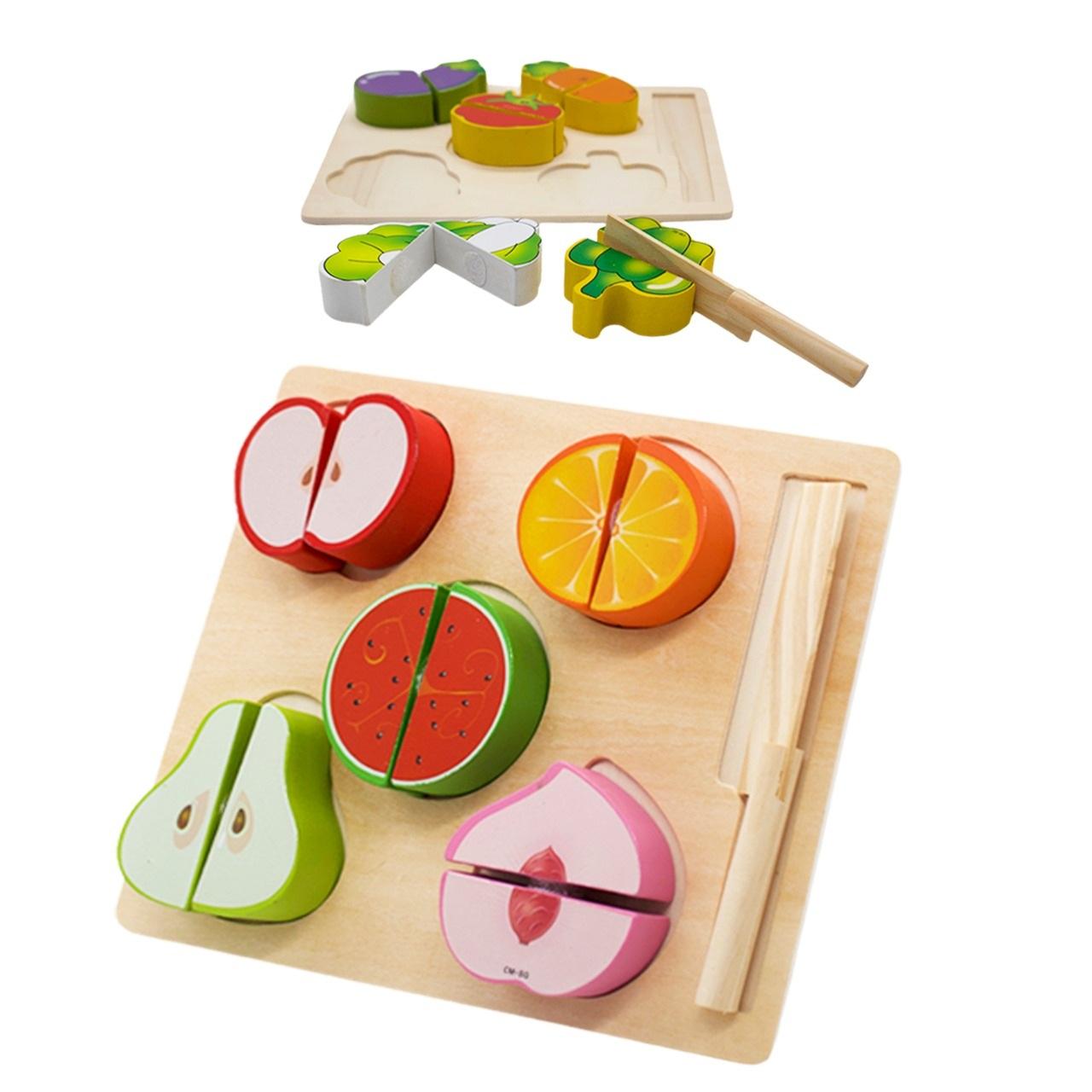 Frutas ou Legumes com Corte Fashion Toys