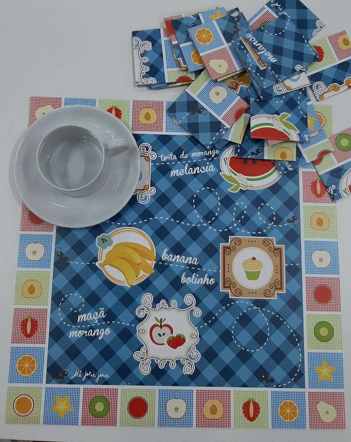 Jogo Americano Infantil Pic Nic - Set com 12 Folhas
