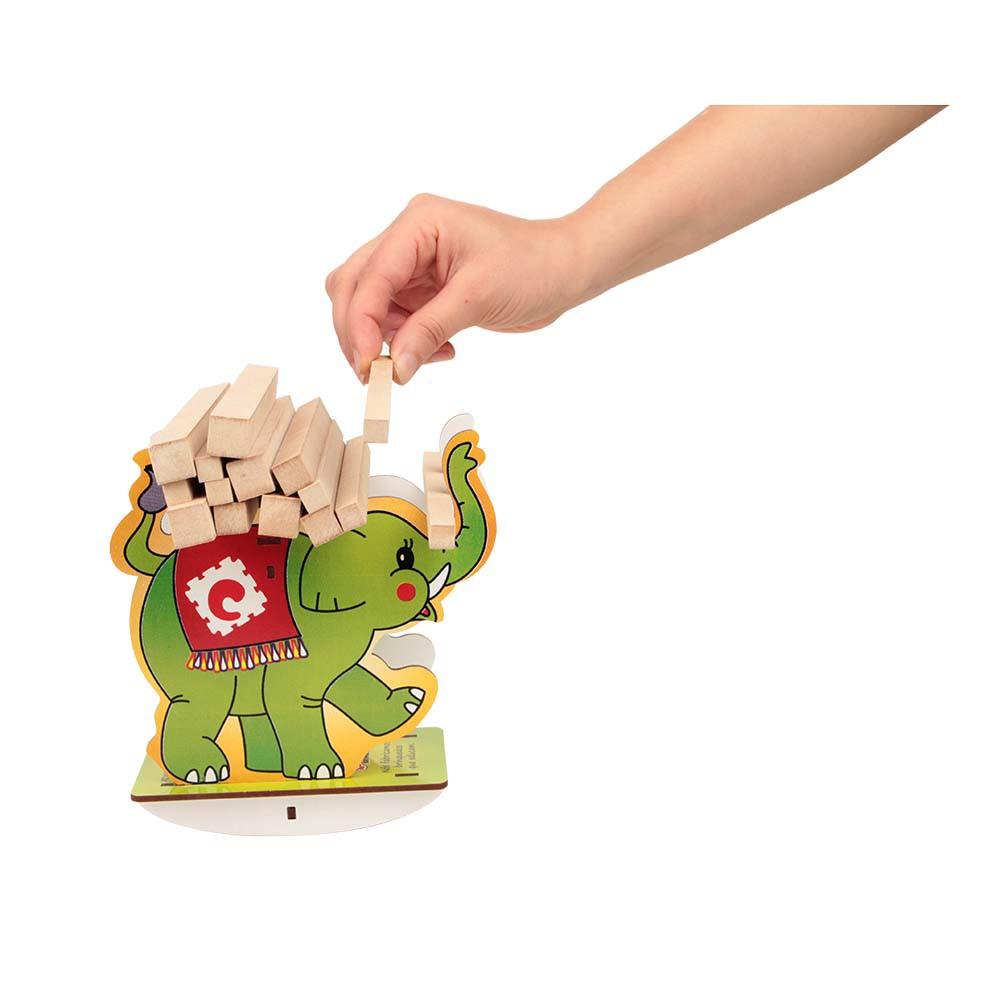 Jogo do Equilíbrio Balanço Elefante