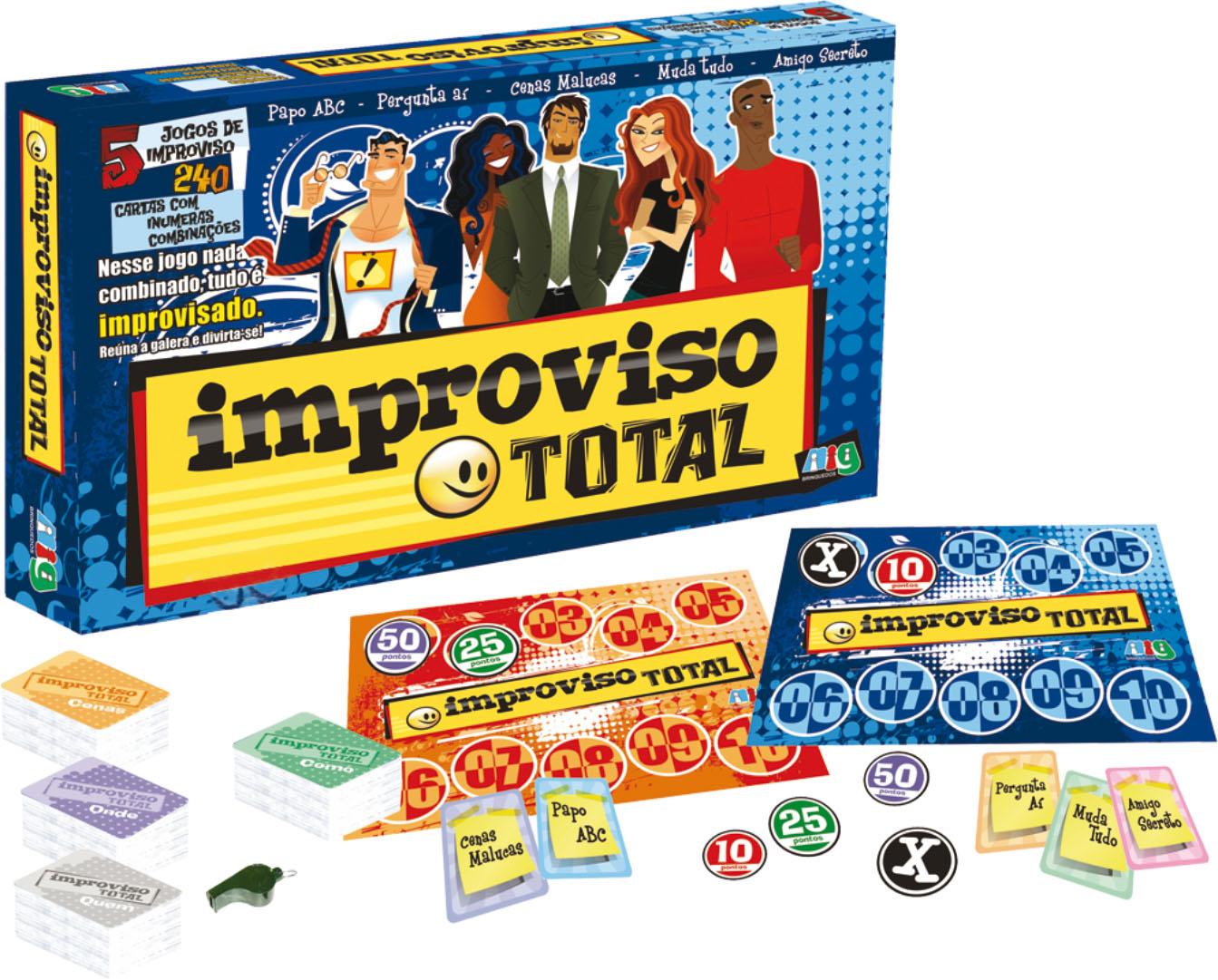 Jogo Improviso Total