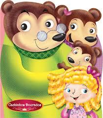 Livro Infantil Cachinhos Dourados