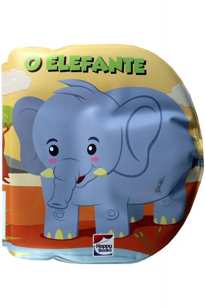 Livro Infantil de Banho O Elefante