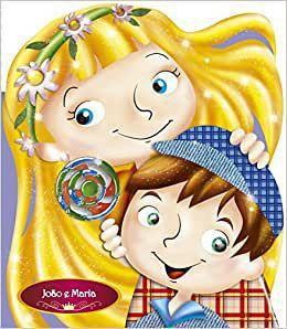Livro Infantil João e Maria