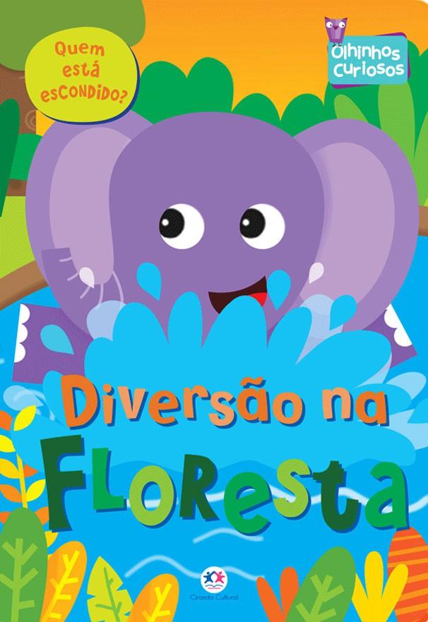 Livro Infantil Olhinhos Curiosos na Floresta