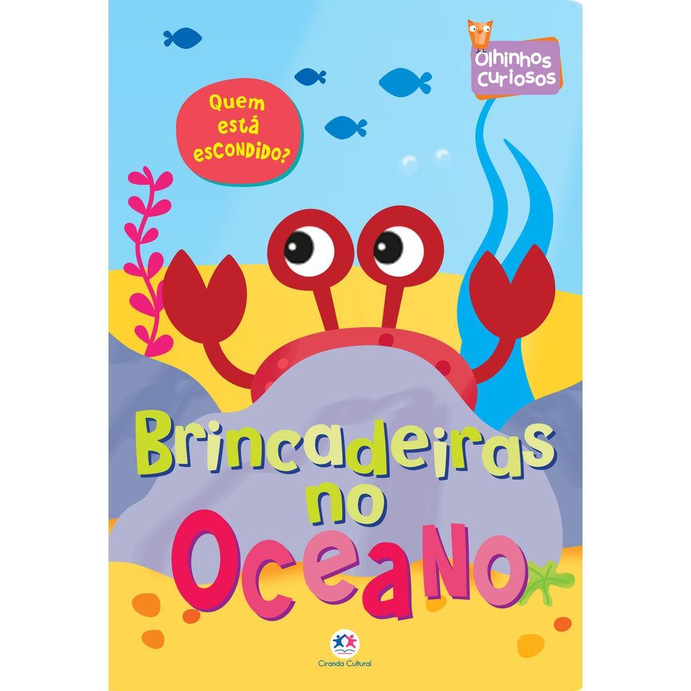 Livro Infantil Olhinhos Curiosos no Oceano