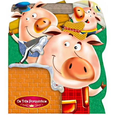 Livro Infantil Os Três Porquinhos