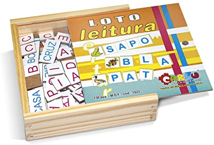 Loto Leitura em Madeira 130 peças