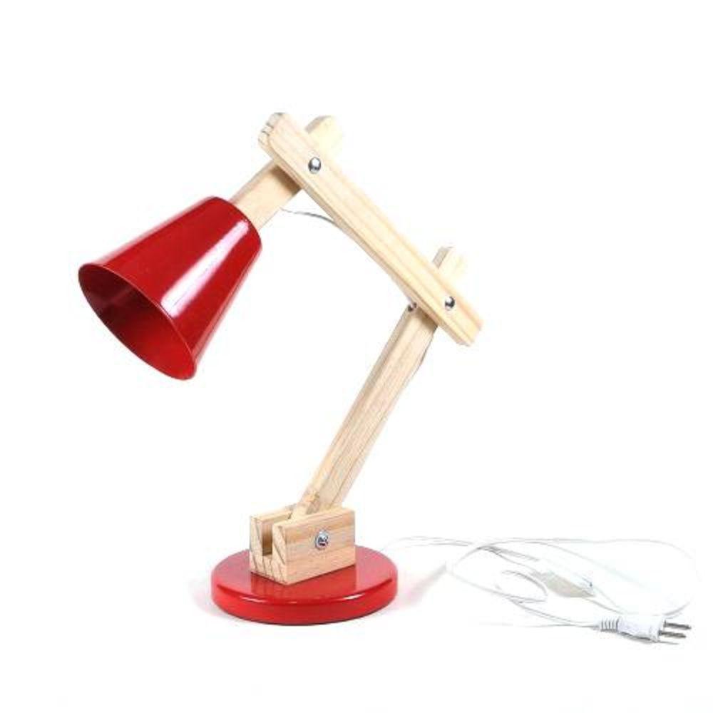 Luminária Criativa Pixar Vermelha
