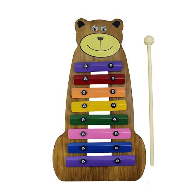 Metalofone Infantil Urso