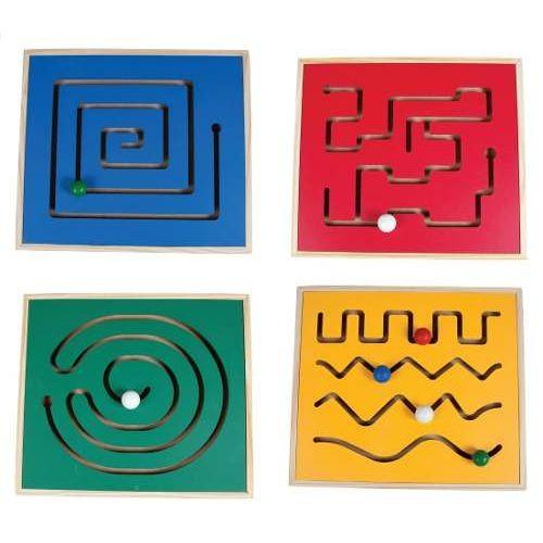 Painel Psicomotor com 4 jogos