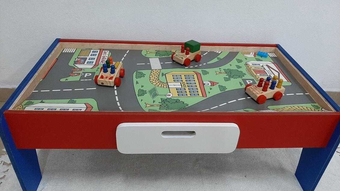 Pista Interativa de Carrinhos Colorida Inf.l 3 em 1 Fashion Toys