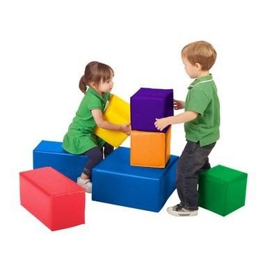 Playground Espumado Geométrico 7 peças