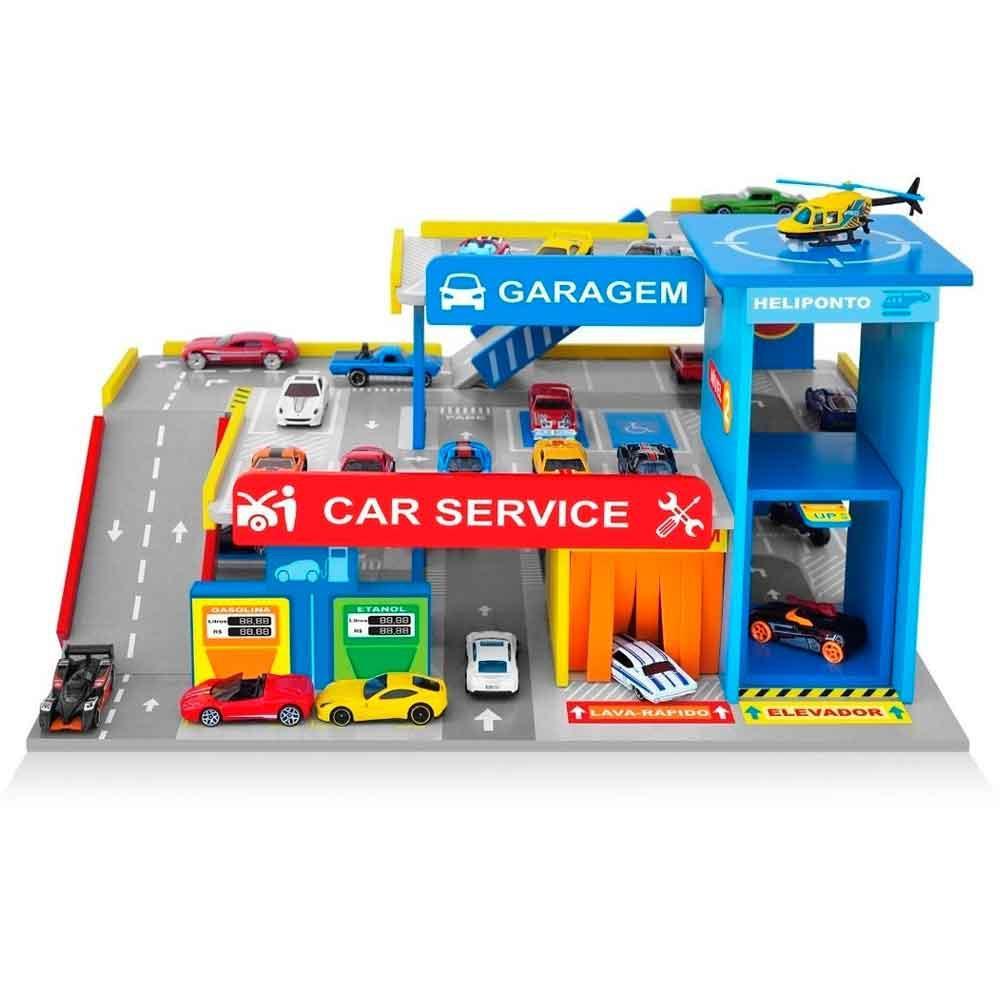 Posto e Garagem Car Server