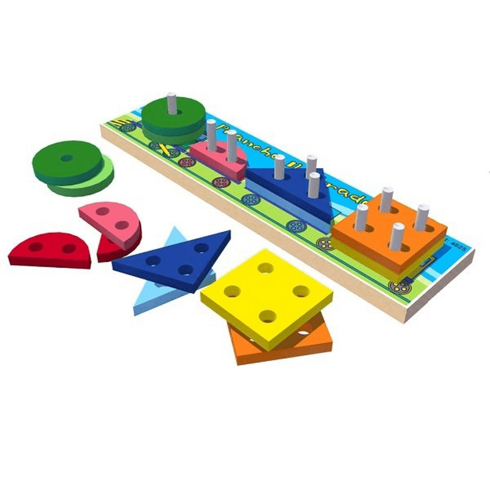 Prancha Ilustrada Brinquedo Educativo