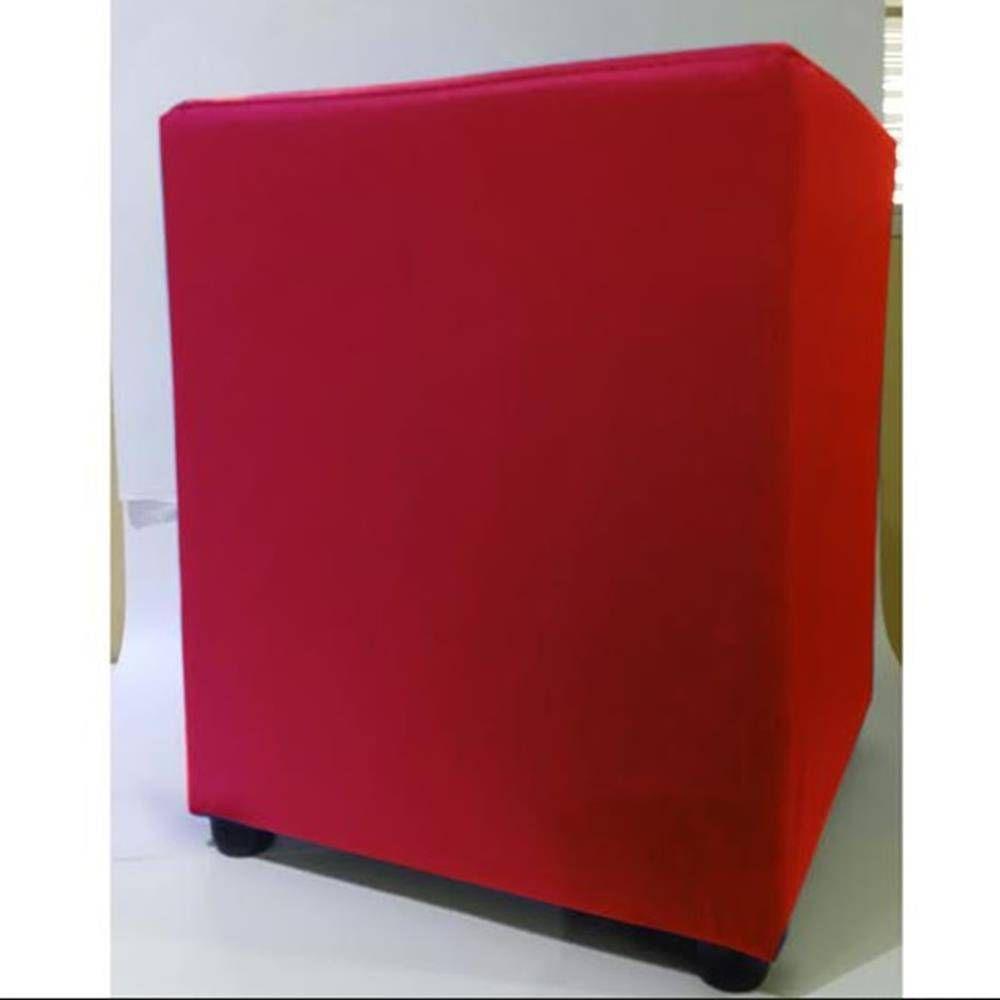 Puff Quadrado Vermelho