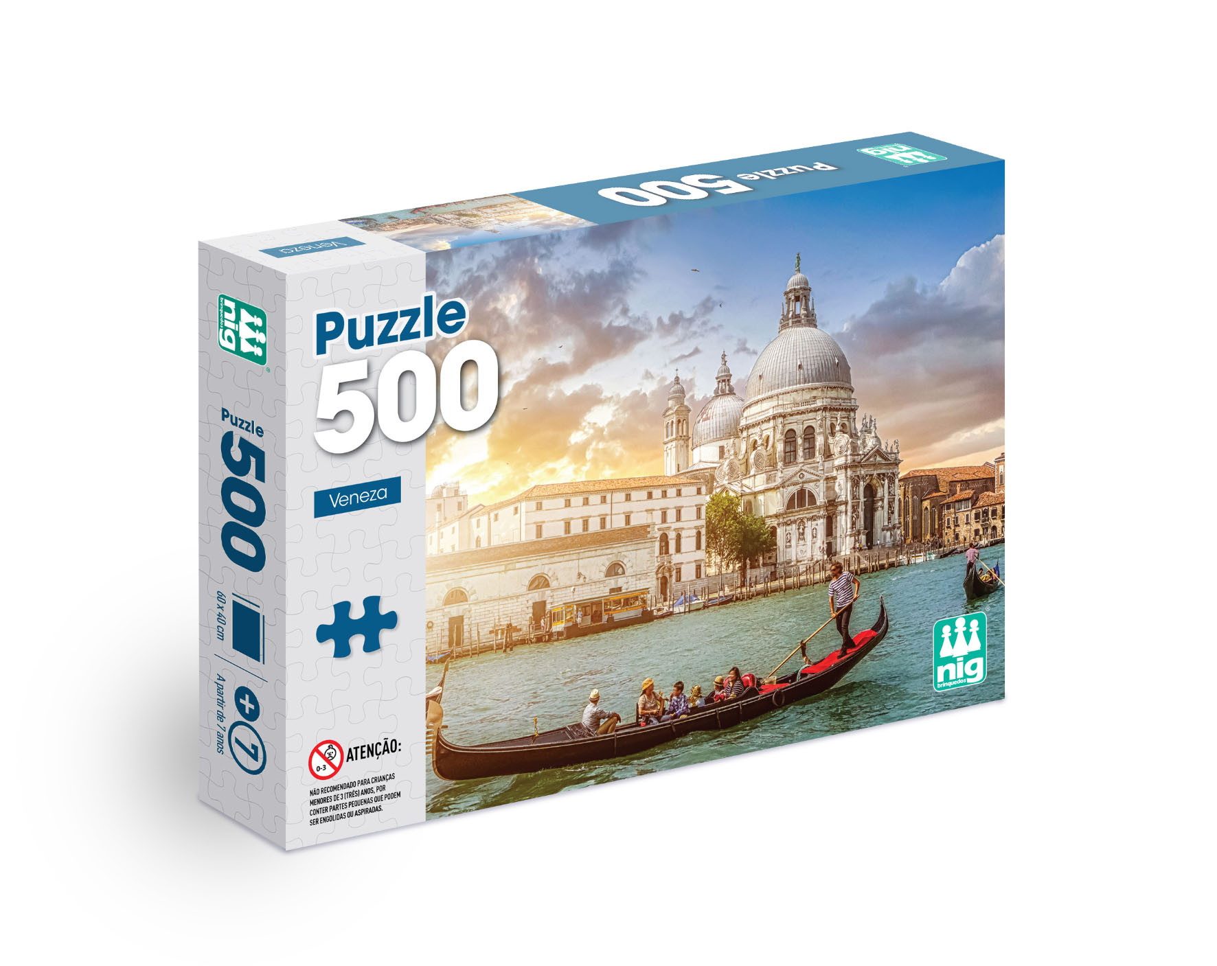 Quebra Cabeça Veneza