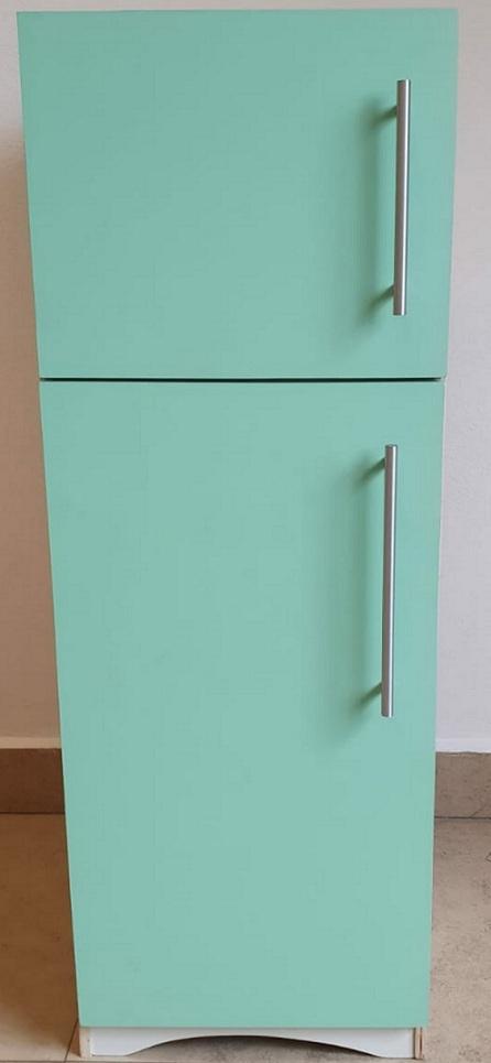 Refrigerador Verde de Madeira Fashion Toys