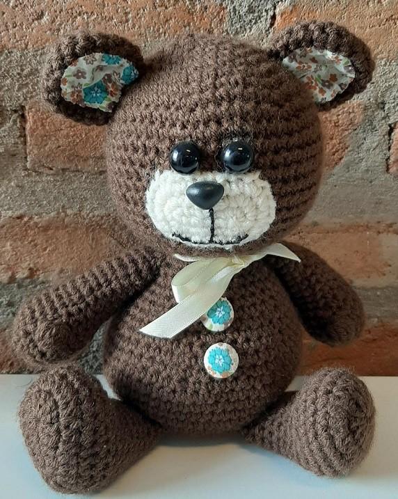 Amigurumi Urso Grande de Crochê