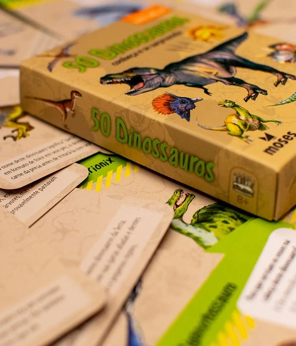 50 Dinossauros - Conheça e se Surpreenda