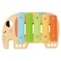 Caixa Instrumentos Musicais em Madeira Animais