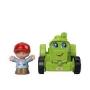 Little People - Mini Figura e Veículo - trator